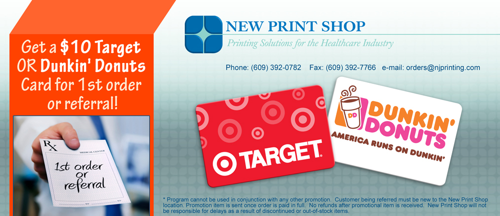 New Jersey RX pads, NJ RX prescription pads printing for doctors